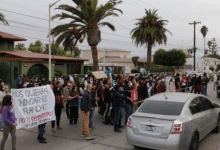 Photo of Se manifiestan contra consulta y empresa extranjera en Ensenada