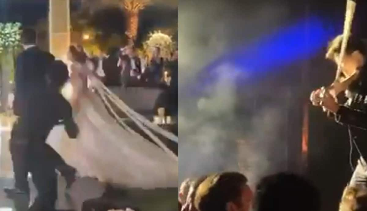 Actor se casa en BC, al menos 100 invitados con Covid-19