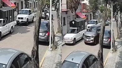Photo of VIDEO: Camioneta pasa por encima de joven y su perro