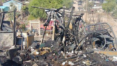 Photo of Incendio deja sin vivienda a cinco familias