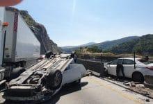 Photo of 'El Mijis' sufre accidente automovilístico