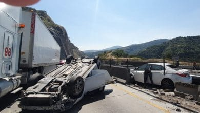 Photo of 'El Mijis' sufre accidente automovilístico