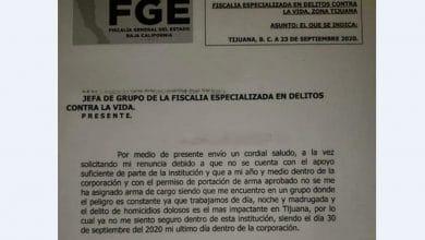 Photo of Policías de la Fiscalía renuncian a sus cargos