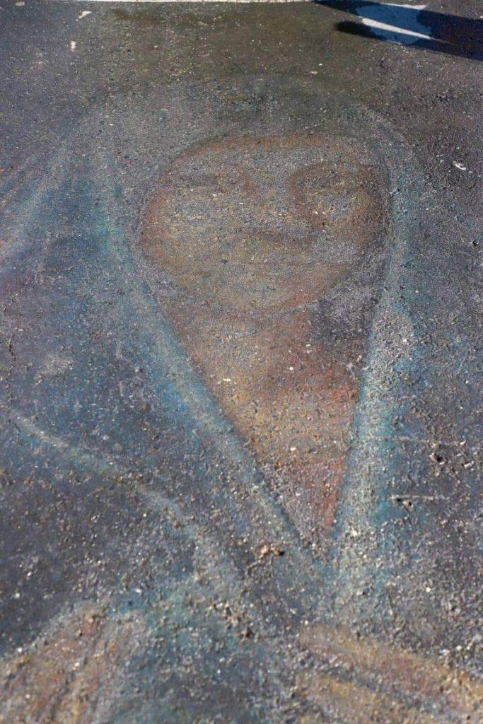 Virgen de Guadalupe aparece en Palacio Municipal