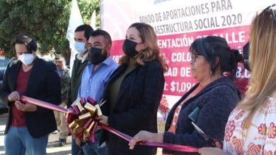 Zulema-Adams-inaugura-trabajos-de-pavimentación-en-colonia-Rincón