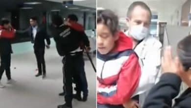 VIDEO-Llevan-a-su-hijo-al-hospital-agreden-a-médicos-y-guardias