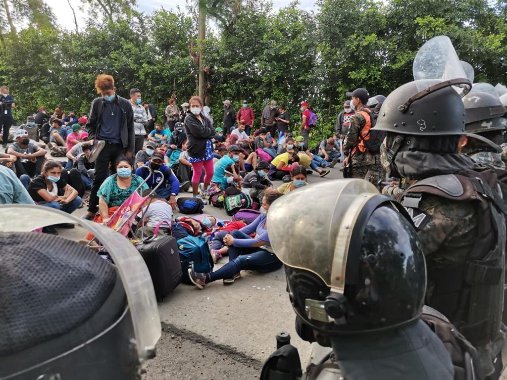 detectan-21-casos-covid-19-caravana-que-viaja-por-guatemala