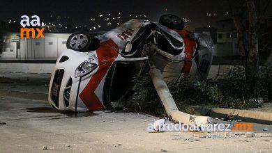 taxista-muere-tras-impactarse-con-poste-de-concreto