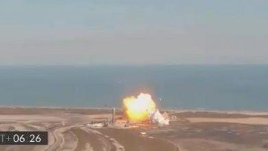 VIDEO-Explota-prototipo-de-cohete-de-SpaceX