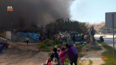 Fuerte-incendio-de-recicladora-provoca-evacuación-de-familias