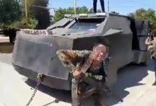 VIDEO-CJNG-presume-camión-monstruo-con-blindaje-artesanal