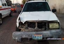 Dos-menores-lesionados-tras-choque-de-cuatrimoto-y-camioneta