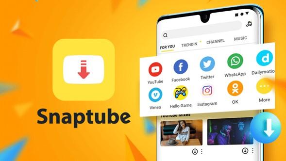 Snaptubeapp para bajar videos de YouTube