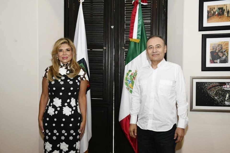 Alfonso Durazo y Claudia Pavlovich