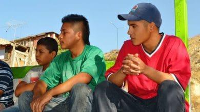 Jóvenes participantes del programa JCC