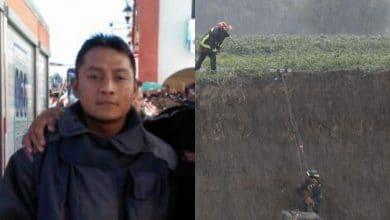 Hugo-Pimentel-bombero-héroe-que-salvó-a-perritos-de-socavón