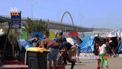 Desalojarán-campamento-en-El-Chaparral-por-reapertura-de-frontera