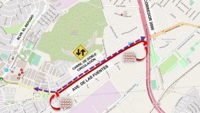 Habrá-cierre-parcial-en-avenida-Las-Fuentes