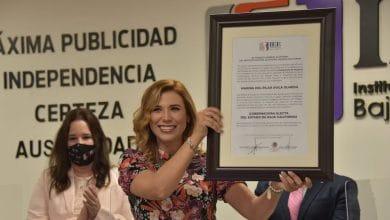 Marina-del-Pilar-recibe-constancia-como-gobernadora-electa-de-BC