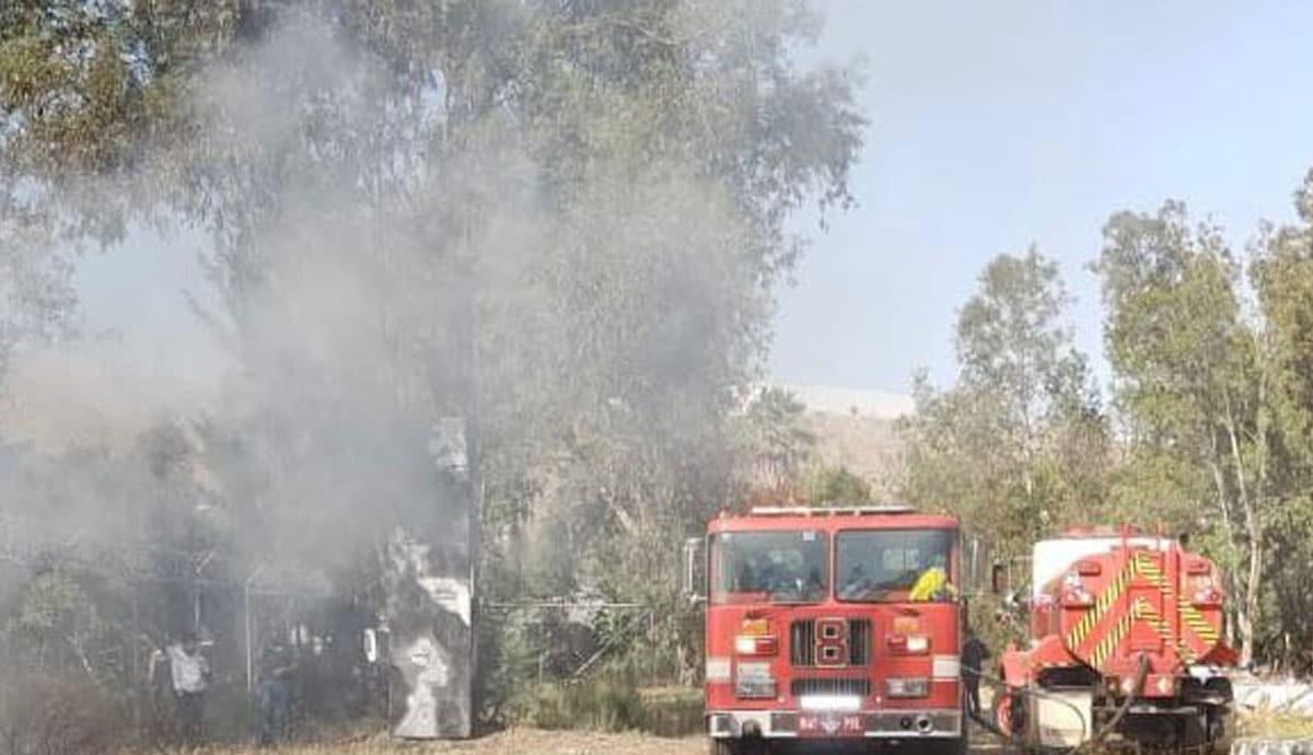 Controla-SIMPATT-incendio-en-zona-de-vivero-del-Parque-Morelos