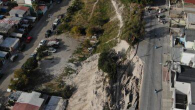 Invasores de terrenos en Tijuana