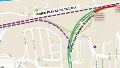 Cierran-carretera-Tijuana-Rosarito-por-bacheo