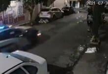VIDEO-Policías-ignoran-fatal-choque-de-motociclistas