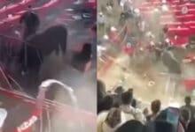 VIDEO-Embestida-de-toro-deja-heridos-en-jaripeo