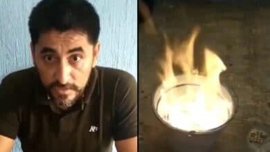 Profesor-quema-más-de-un-millón-de-pesos-rechaza-soborno