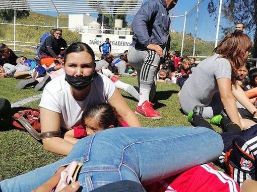 balacera zacatecas partido infantil de futbol