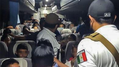 Detectan-en-autobús-a-centenar-de-migrantes-entre-ellos-niños