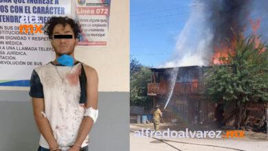 Riña-termina-en-incendio-de-vivienda-cae-agresor